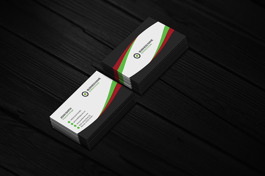 business cards photo