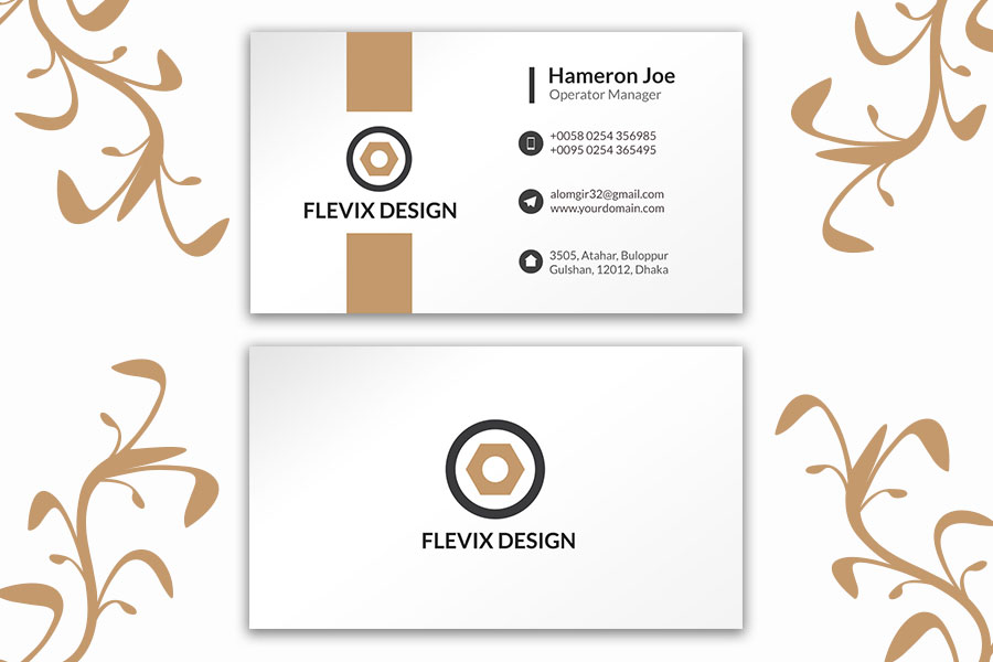 White-Business-Card