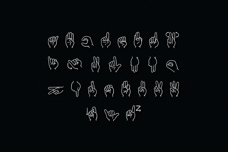 Finger Icons