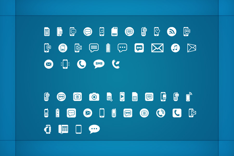 Mobiles Icons