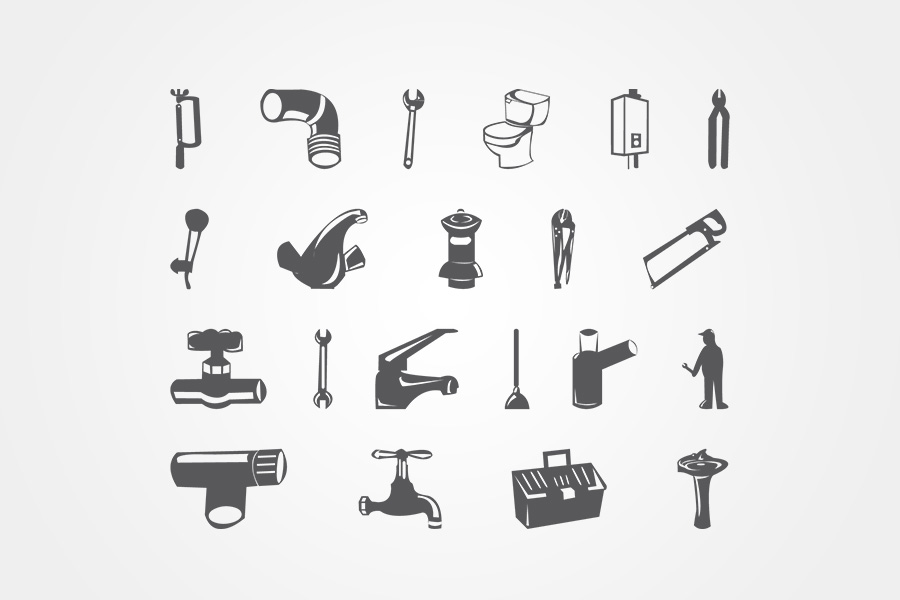 Gas-Fittings-Icons