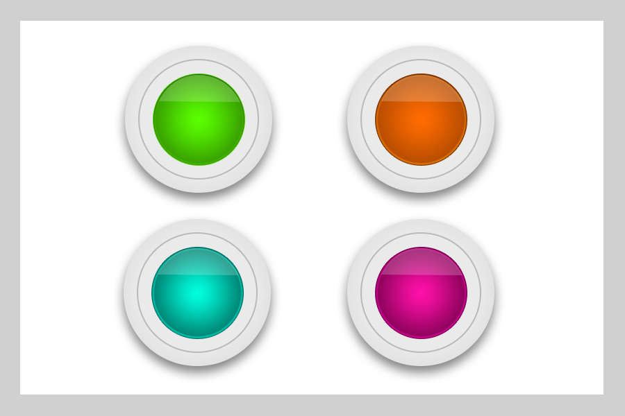 Circle Button Backgrounds