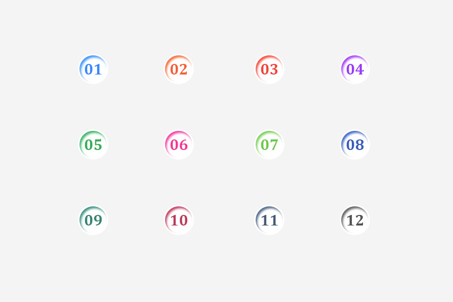 Number-List-Icons