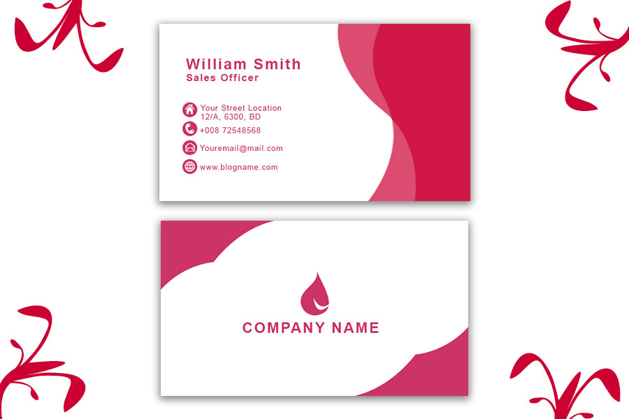 Pink-Business-Card-Template