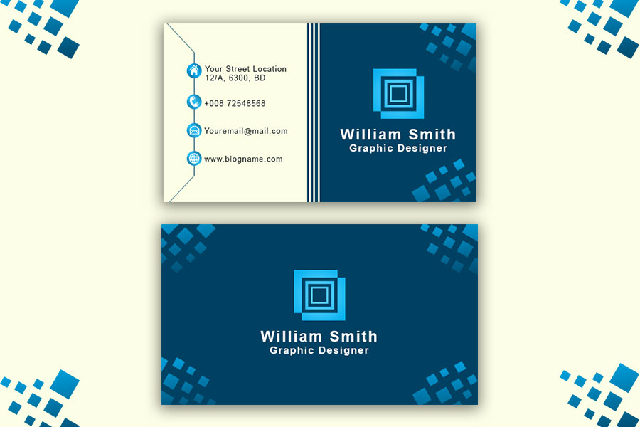 Technology-Business-Card-Template