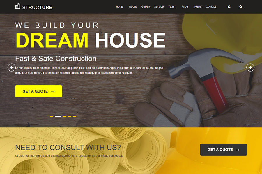Construction-HTML-Template